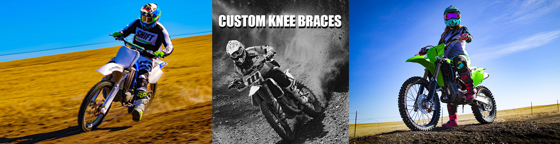 Knee Braces for Motorcylists
